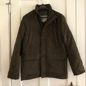 London Fog Quilted Army Jacket